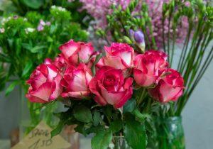 Gärtnerei Hinze | Weiß-Rote Rosen